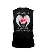 T-SHIRT - MY ANGEL HUSBAND - WINGS - HE'S MINE Sleeveless Tee thumbnail