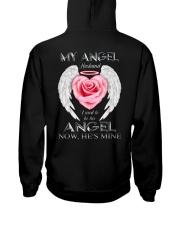 T-SHIRT - MY ANGEL HUSBAND - WINGS - HE'S MINE Hooded Sweatshirt thumbnail