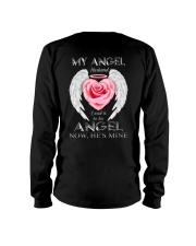 T-SHIRT - MY ANGEL HUSBAND - WINGS - HE'S MINE Long Sleeve Tee thumbnail
