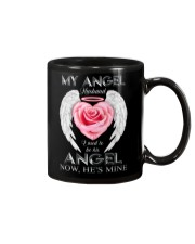 T-SHIRT - MY ANGEL HUSBAND - WINGS - HE'S MINE Mug thumbnail