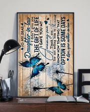 To My Daughter-in-law - Butterfly - Circus 16x24 Poster lifestyle-poster-2