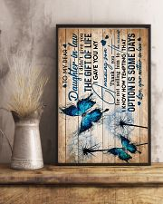 To My Daughter-in-law - Butterfly - Circus 16x24 Poster lifestyle-poster-3