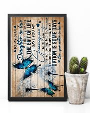 To My Daughter-in-law - Butterfly - Circus 16x24 Poster lifestyle-poster-8