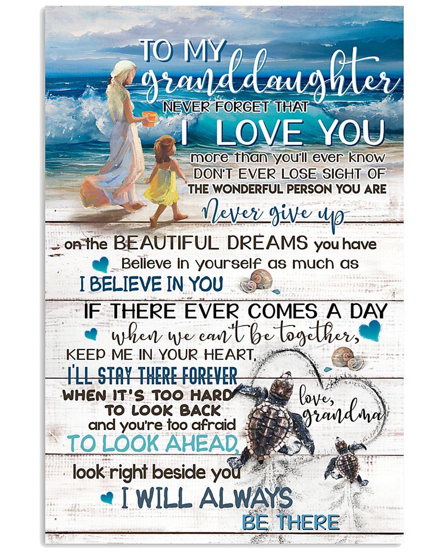 GRANDMA TO GRANDDAUGHTER 16x24 Poster