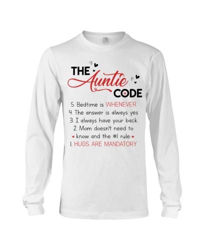 THE AUNTIE CODE - HUGS ARE MANDATORY