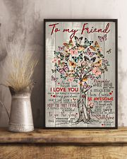 TO MY FRIEND 16x24 Poster lifestyle-poster-3