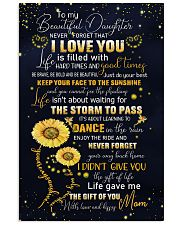 To My Daughter - Keep Your face To The Sunshine  11x17 Poster thumbnail