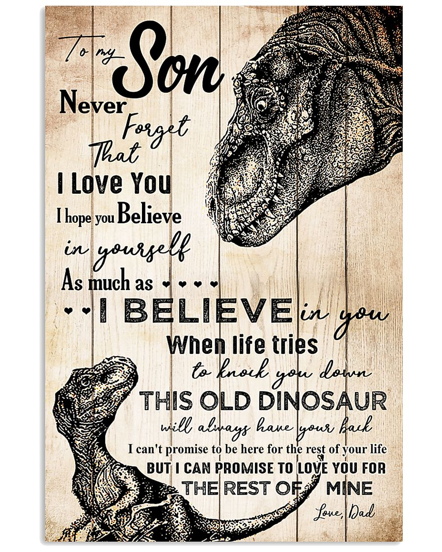 POSTER - PARENTS TO KIDS - T REX - I HOPE  16x24 Poster