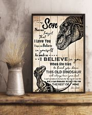 POSTER - PARENTS TO KIDS - T REX - I HOPE  16x24 Poster lifestyle-poster-3