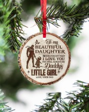 Christmas - To My Daughter - Today Is A good Day Circle ornament - single (porcelain) aos-circle-ornament-single-porcelain-lifestyles-07