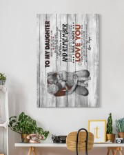 To My Daughter - Never Feel That You Are Alone 20x30 Gallery Wrapped Canvas Prints aos-canvas-pgw-20x30-lifestyle-front-03