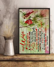 To Wife - Once Upon A Time I Became Yours 16x24 Poster lifestyle-poster-3