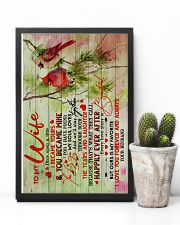 To Wife - Once Upon A Time I Became Yours 16x24 Poster lifestyle-poster-8