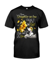 Dear daughter-in-law Classic T-Shirt front