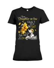 Dear daughter-in-law Premium Fit Ladies Tee thumbnail
