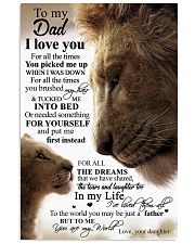 POSTER - TO MY DAD - LION 16x24 Poster front