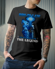 SON-IN-LAW - GOD - THE MAN THE MYTH THE LEGEND Classic T-Shirt lifestyle-mens-crewneck-front-6