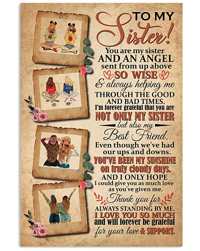 TO MY SISTER - ART- I LOVE YOU