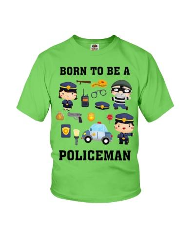 TO GRANDSON - POLICEMAN - SCHOOL