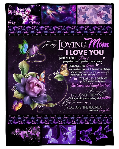 TO MY LOVING MOM - BUTTERFLY