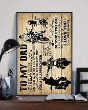 To My Dad - Motorbike - Poster 16x24 Poster lifestyle-poster-2