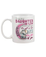 TO MY DAUGHTER-IN-LAW - ELEPHANT - GIFT OF LIFE Mug back