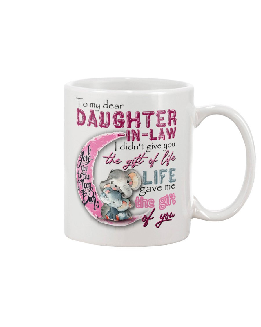 TO MY DAUGHTER-IN-LAW - ELEPHANT - GIFT OF LIFE Mug