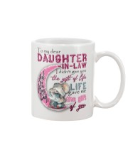 TO MY DAUGHTER-IN-LAW - ELEPHANT - GIFT OF LIFE Mug front