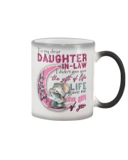 TO MY DAUGHTER-IN-LAW - ELEPHANT - GIFT OF LIFE Color Changing Mug tile