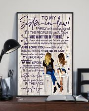 TO MY SISTER-IN-LAW - GIRLS - THANK YOU 11x17 Poster lifestyle-poster-2