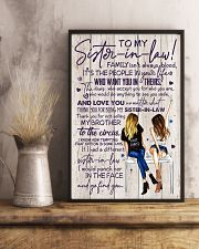 TO MY SISTER-IN-LAW - GIRLS - THANK YOU 11x17 Poster lifestyle-poster-3