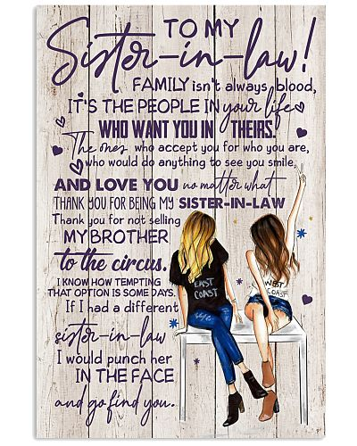 TO MY SISTER-IN-LAW - GIRLS - THANK YOU