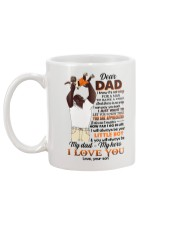 DEAR DAD - FATHER'S GIFT - YOU ARE APPRECIATED Mug back
