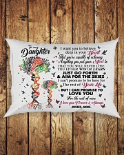MOM TO DAUGHTER Rectangular Pillowcase aos-pillow-rectangle-front-lifestyle-2