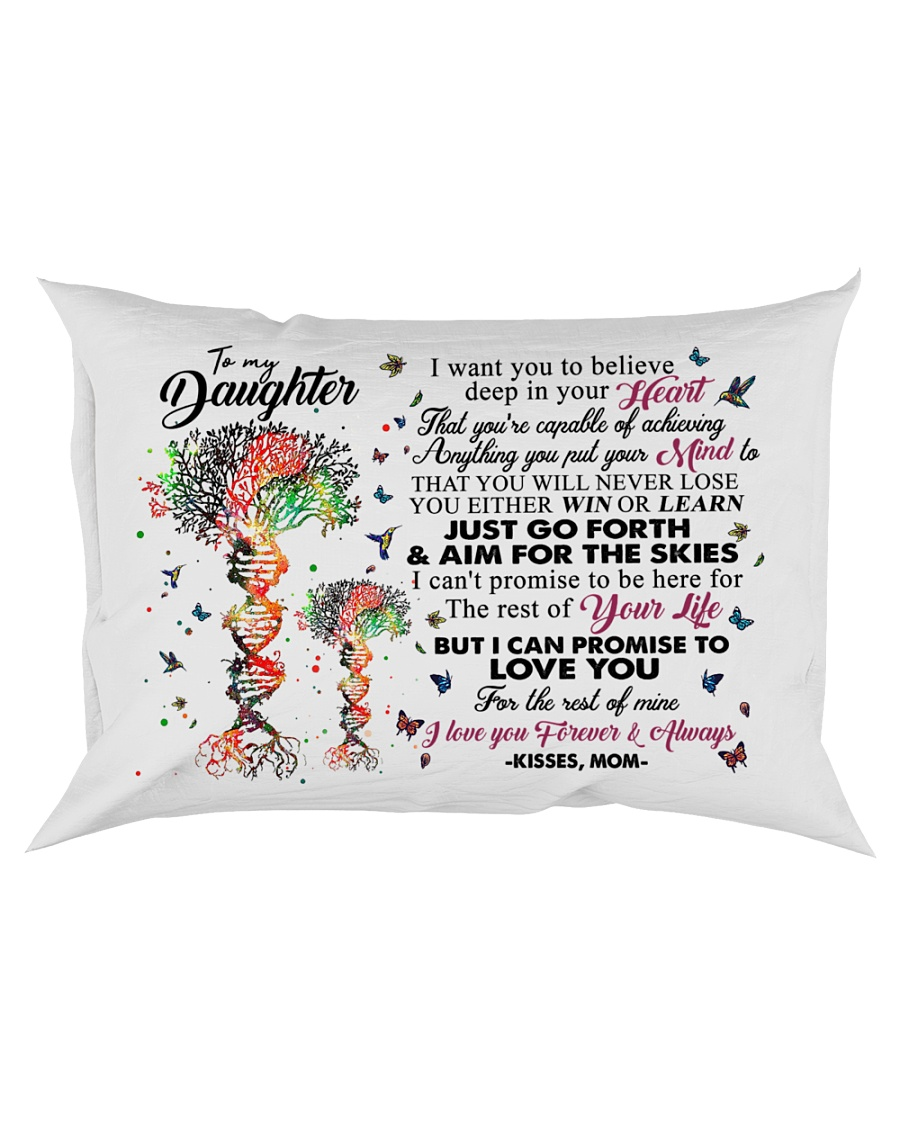 MOM TO DAUGHTER Rectangular Pillowcase
