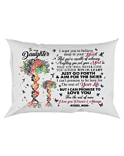 MOM TO DAUGHTER Rectangular Pillowcase front