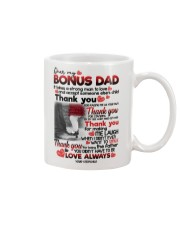 STEPCHILD TO BONUS DAD Mug front