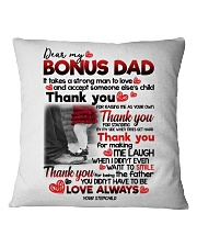 STEPCHILD TO BONUS DAD Square Pillowcase thumbnail