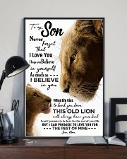 POSTER - TO MY SON - LIONESS - WHEN LIFE 16x24 Poster lifestyle-poster-2
