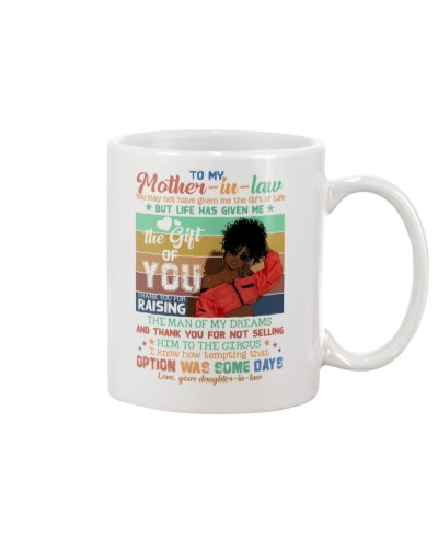 To My Mother-in-law - Mug