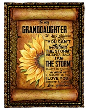 """Grandma to Granddaughter - Believe In Yourself  Small Fleece Blanket - 30"""" x 40"""" front"""