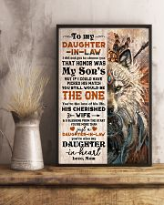 TO MY DAUGHTER-IN-LAW - FOX - HIPPIE - THE ONE 16x24 Poster lifestyle-poster-3