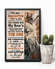 TO MY DAUGHTER-IN-LAW - FOX - HIPPIE - THE ONE 16x24 Poster lifestyle-poster-8