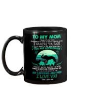 MUG - TO MY MOM - ELEPHANT - YOU ARE APPRECIATED Mug back