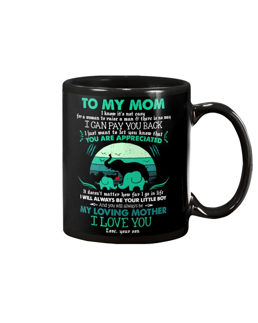 MUG - TO MY MOM - ELEPHANT - YOU ARE APPRECIATED Mug