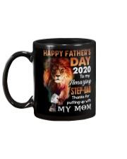 MUG - TO MY BONUS DAD - FATHER'S DAY - LION Mug back