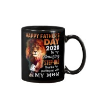 MUG - TO MY BONUS DAD - FATHER'S DAY - LION Mug front