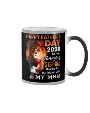 MUG - TO MY BONUS DAD - FATHER'S DAY - LION Color Changing Mug thumbnail