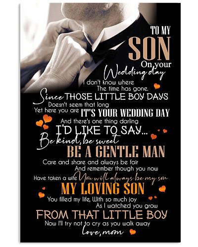TO SON - WEDDING - BE KIND