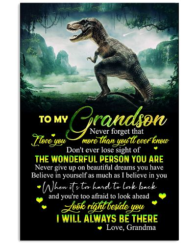 GRANDMA TO GRANDSON - T REX - NEVER GIVE UP